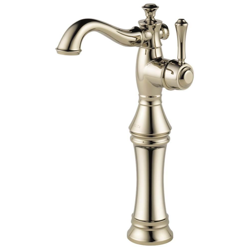 Delta Faucet - 797LF-PN - Delta Cassidy: Single Handle Vessel Bathroom Faucet