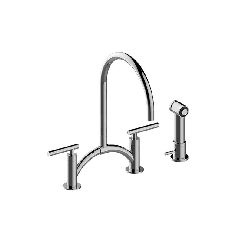 Graff G-4895-LM49-WT at My House Plumbing Side Spray Kitchen ...