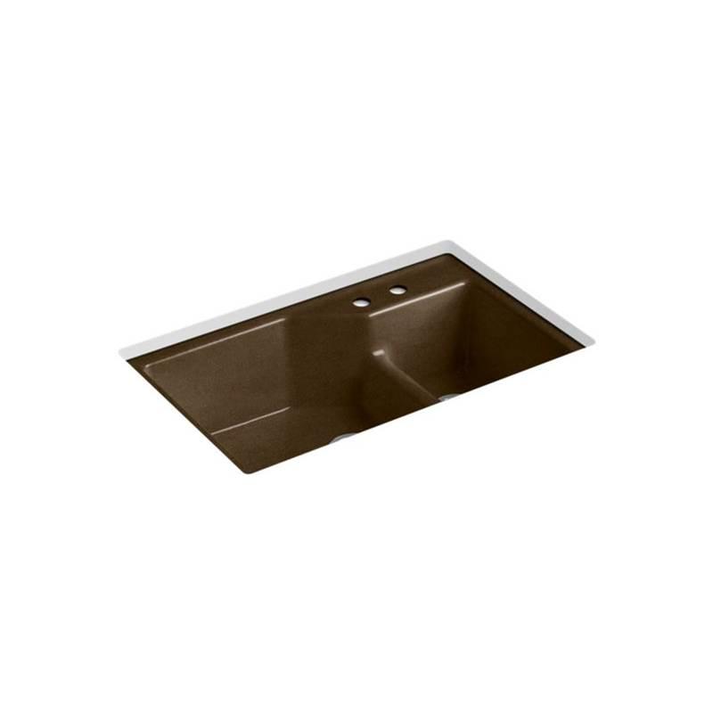 Kohler 6411-2-KA at My House Plumbing Undermount Kitchen Sinks